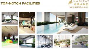 Tiện ích nội khu dự án Habitat Grand